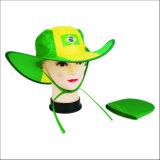 Protezioni e cappelli della tazza di mondo del rifornimento per la promozione ed i tifosi