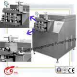 Meio, 4000L/H, 25MPa, alta velocidade, leiteria, homogenizador do gelado