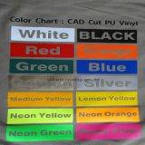 Vinyl van uitstekende kwaliteit van de Overdracht van de Hitte van het Neon van de Helderheid het Gele voor Kleding