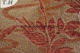 Ligados jacquard tejido chenilla sofá