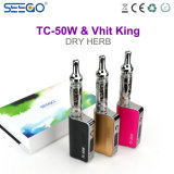 Seego Vhit 임금 & Tc 50W 초본 수증기 조정가능한 와트수 전자 담배
