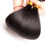 O cabelo reto preto natural de Dlme empacota a extensão do cabelo humano