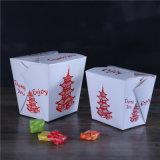 Снимите китайскую еду бумага рисовая лапша ящики