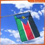 カスタムマーキングの南スーダンの小型手持ち型のフラグ