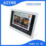 LCD de interior que hace publicidad de la visualización de la pantalla táctil de la señalización de Digitaces