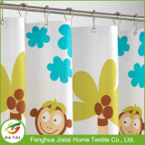 Tende di acquazzone sveglie della stanza da bagno dei capretti della vasca da bagno impermeabile interessante di Loveliness