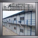 Camera modulare d'acciaio personalizzata dell'indicatore luminoso della struttura d'acciaio per i dormitori