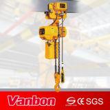 Élévateur à chaînes électrique de Vanbon 5ton avec le chariot