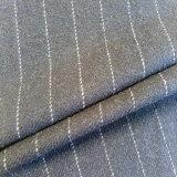 Ткань шерстей одежды из твида акриловая с крепила на клею задняя часть