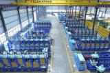 자동적인 회전하는 플라스틱 두 배 색깔 단화 직접 사출 성형 기계