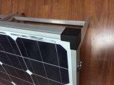 Высокая эффективность 120W Моно Складная солнечная панель для кемпинга за пределами