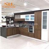 N & L Meubles chinois Armoires de cuisine modernes avec emballage plat