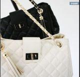 사슬을%s 가진 Handbag Female 다이아몬드 살창 숙녀 어깨에 매는 가방 끈달린 가방