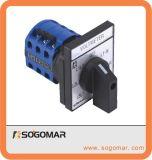 Interruptor de selector rotatorio de alto voltaje 16 amperios