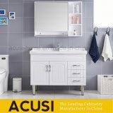 熱い販売の現代様式白いカラー木の浴室用キャビネット(ACS1-W61)