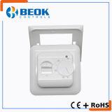 Termóstato eléctrico funcionado fácil de la calefacción del termóstato 16A de Mechniacal del sitio