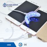 LED nuevo teléfono USB conectado el blanqueamiento de dientes de la luz de Mini FDA