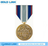 Métiers militaires gravés en relief de médaillon de récompense de souvenir de médaille en métal
