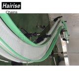Hairise Modular de giro/recto sistema transportador de correa