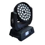 36*10W 4 in 1 RGBW die de HoofdVerlichting van de Disco van DJ van het Gezoem van de Was bewegen