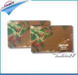 Прокатанная карточка PVC с номером карточки и Barcode