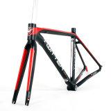 Алюминий 700c дорожного велосипеды рамы с внутренней маршрутизации всех кабелей