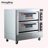 Forno per panetteria elettrico caldo di vendite 2-Deck 4-Trays di Hongling dal 1979