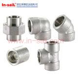 Продетые нитку штуцеры трубы для трубы спирали нержавеющей стали