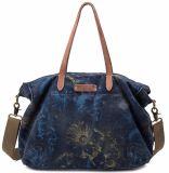 Lady's Canvas Vintage sac fourre-tout sac de sangle en cuir