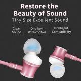 Novo estilo de Metal de alta qualidade dos auriculares com microfone Sistema mãos livres