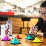 Держатель Kickstand творческой стойки телефона пирамидки всеобщий для iPhone Samsung
