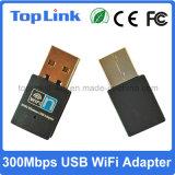 OEM sin hilos vendedor caliente del soporte de la tarjeta del USB de Realtek 300Mbps del bajo costo