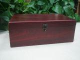 Rectángulo de madera usado para el conjunto del vino/el rectángulo de regalo de madera