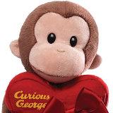 Het bruine Stuk speelgoed van de Aap van de Valentijnskaart van de Pluche met Giften