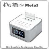 Altoparlante portatile di S1-Bt Bluetooth con aus. radiofonico dell'orologio FM
