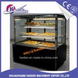 Vetrina della visualizzazione di /Cake della vetrina della torta dell'acciaio inossidabile/vetrina commerciale del frigorifero della torta della visualizzazione