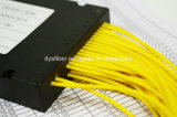 Divisor da fibra óptica do comprimento 2X32 do comprimento 1.5m da saída da entrada do conetor de SC/PC e do conetor de Sc/APC