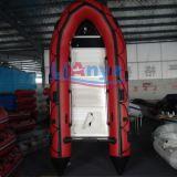 Bote de salvamento inflável macio do barco inflável do PVC de Liya Ub200-650
