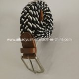 Knitting machine Elastic Muti Color Strap Belt with Pine Buckle
