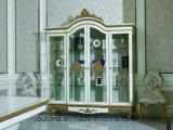 Рука твердой древесины 0067 высекла огорченную крася классическую витрину