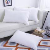 Venda a quente de encher com 1000g travesseiro para dormir em microfibra branca