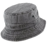 Шлем ведра хлопка Packable помытый пигментом