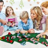 Ornamenti poco costosi all'ingrosso dell'albero di Natale del feltro dal fornitore della Cina