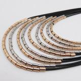 Halsband van de Legering van de Klasse van de Lagen van de Juwelen van de Toebehoren van de Vrouwen van de manier de Multi