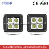 지프 (GT1022-16W)를 위한 방수 크리 사람 16W 반점 또는 플러드 입방체 LED 일 빛