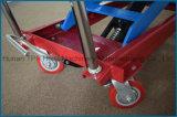 table élévatrice hydraulique manuelle de ciseaux de la main 300kg la double Pts300A vendent en gros