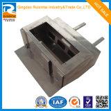 Metal de hoja de encargo de la pieza de maquinaria que procesa la fábrica del servicio