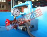 Machine de tonte hydraulique de plaque en acier en métal de faisceau de l'oscillation QC12y-16X6000