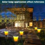最もよい販売の太陽火の炎のBalzeの芝生の壁の装飾のコップのランタンランプライト