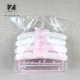 cetim off-White ganchos acolchoados da saia para o cobertor de lã